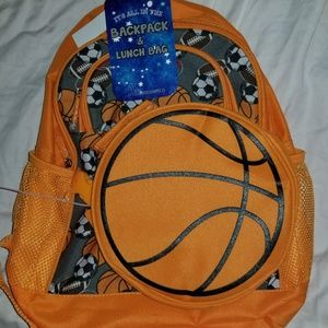 Brand New Sports Theme Backpack